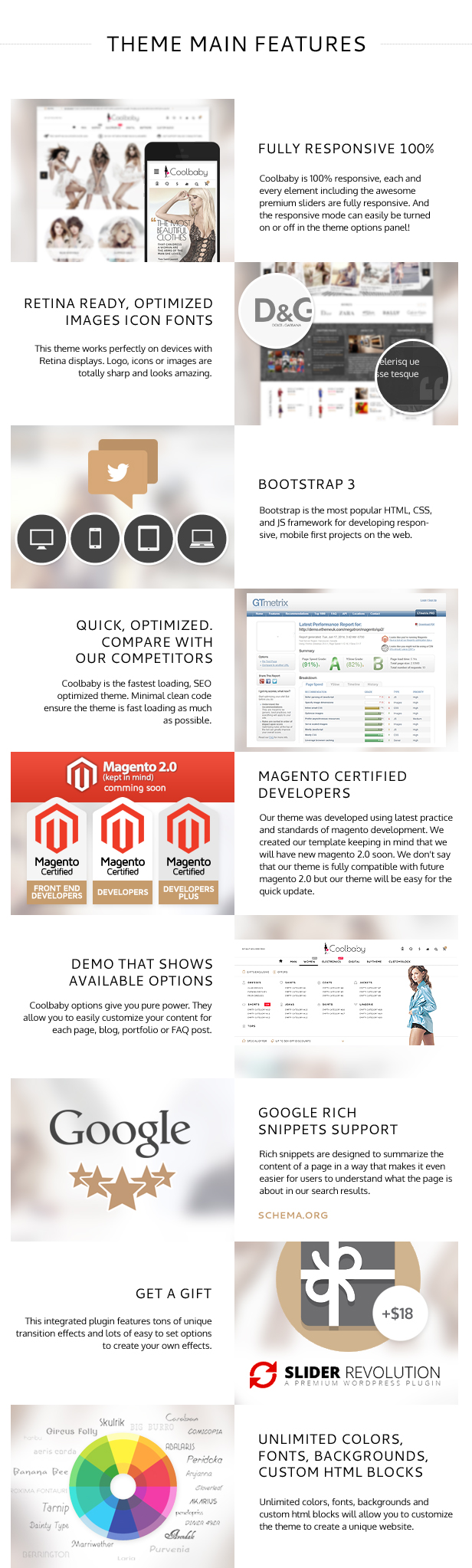 Coolbaby - original Magento theme