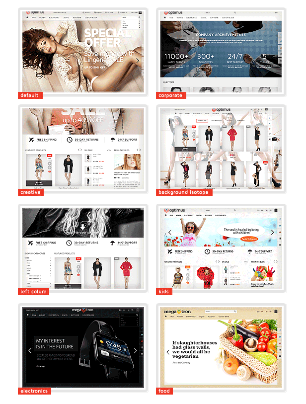 Megatron - Shopify Multi-Purpose Theme