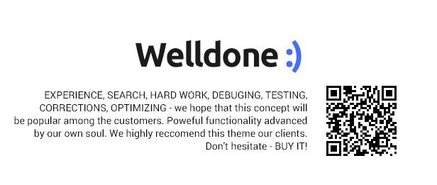 HTML eCommerce theme