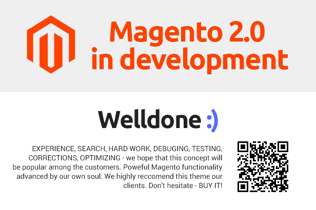 Welldone magento theme