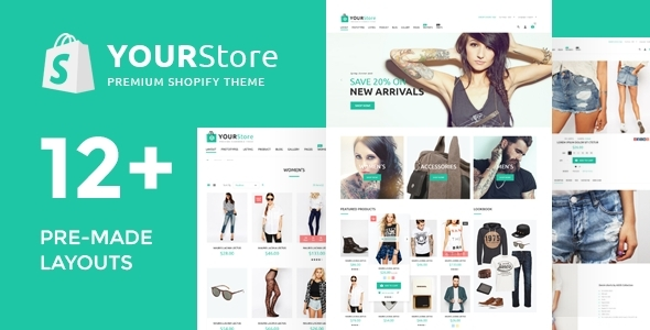 YourStore - awersome Shopify theme