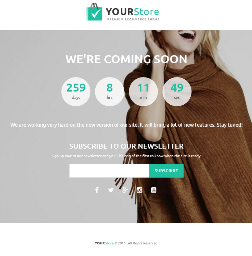 discussion on yourstore shopify theme page 1 themeforest. Black Bedroom Furniture Sets. Home Design Ideas