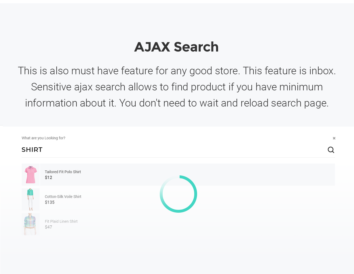 YourStore - Version3 - Ajax Search