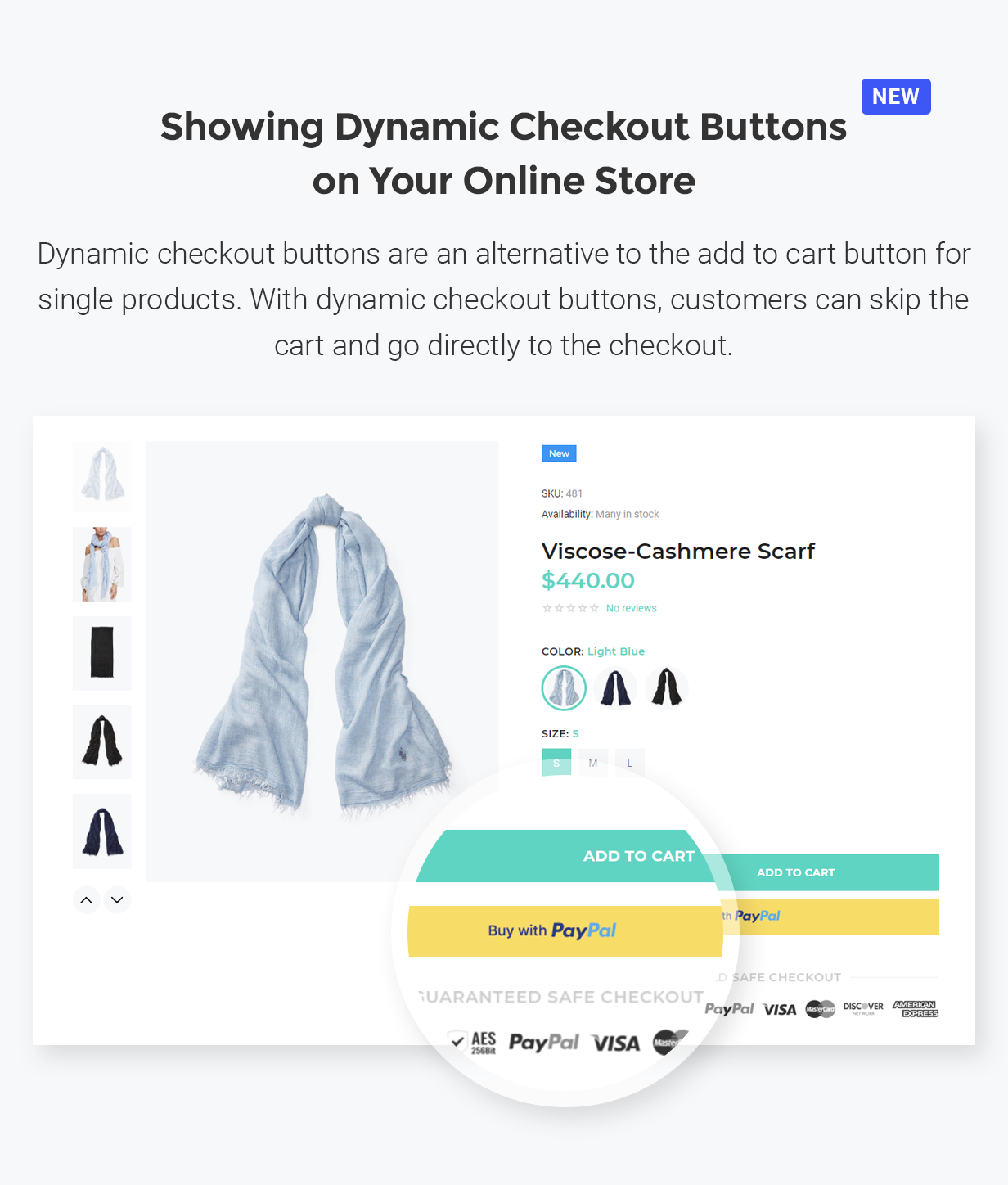 YourStore - Version3 - Checkout Buttons