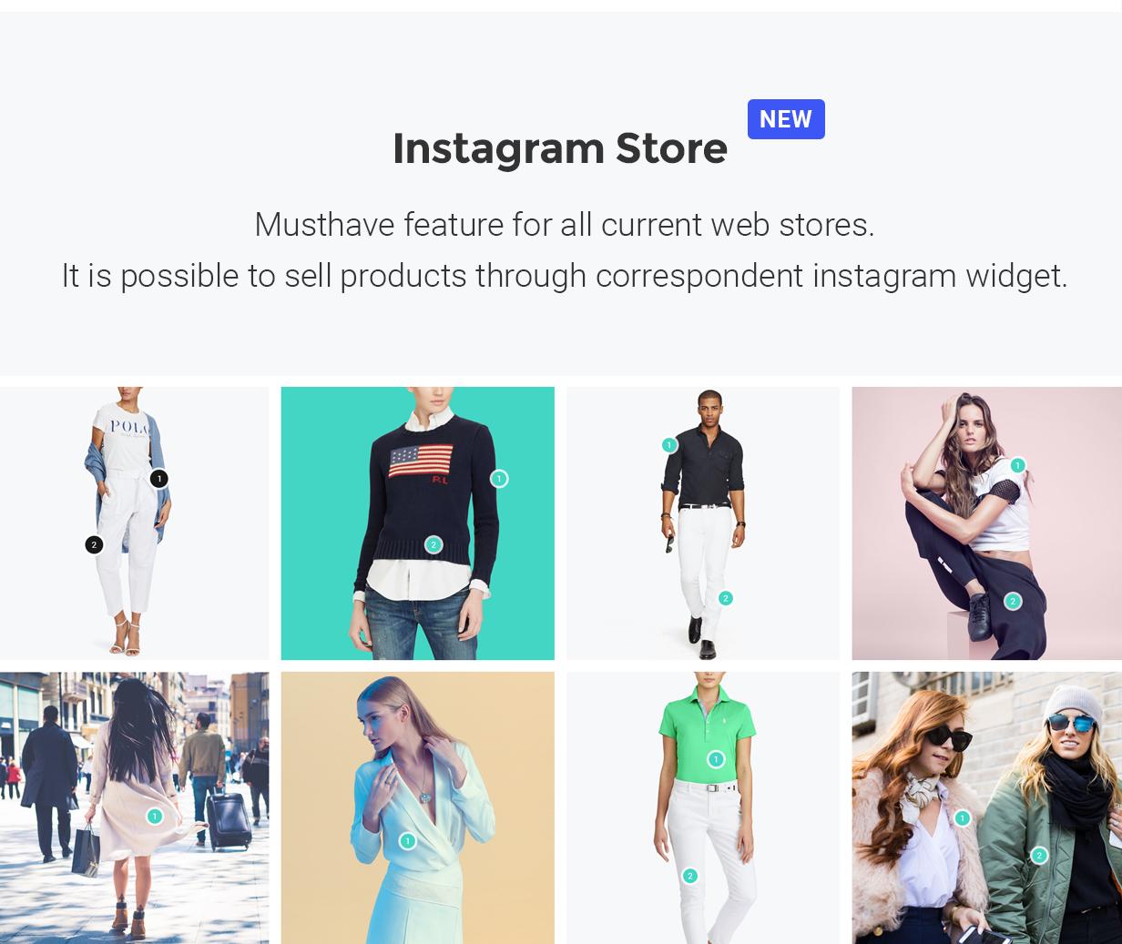 YourStore - Version3 - Instagram Store