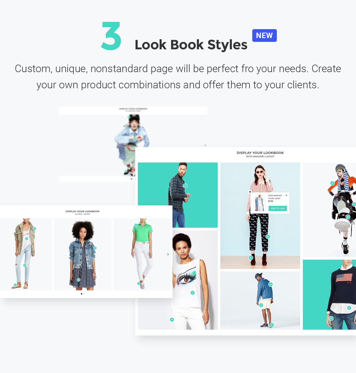 YourStore - Version3 - Look Book styles