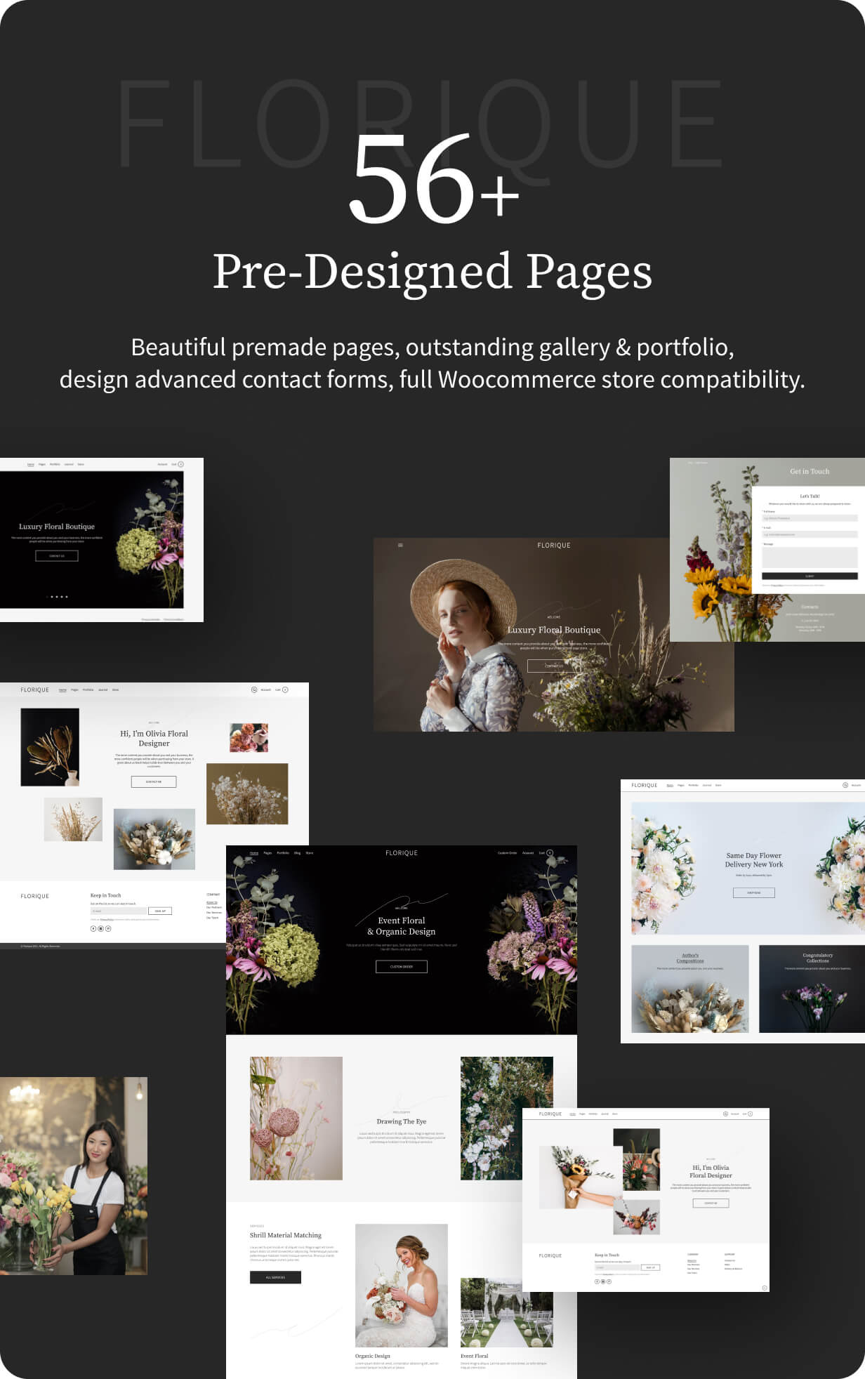 56+ pre-designed pages