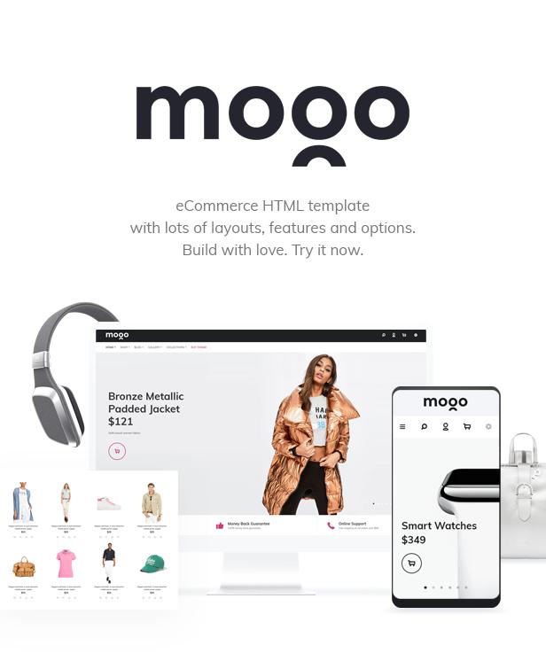 Mogo ecommerce html template