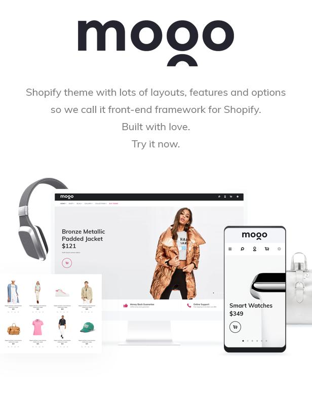 Mogo - new, fashion, electronics, fastest Shopify theme