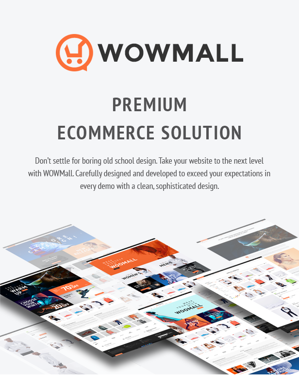 WOWmall premium WooCommerce WordPress theme