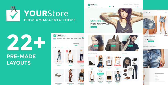 Premium, best rated (top10) Magento theme