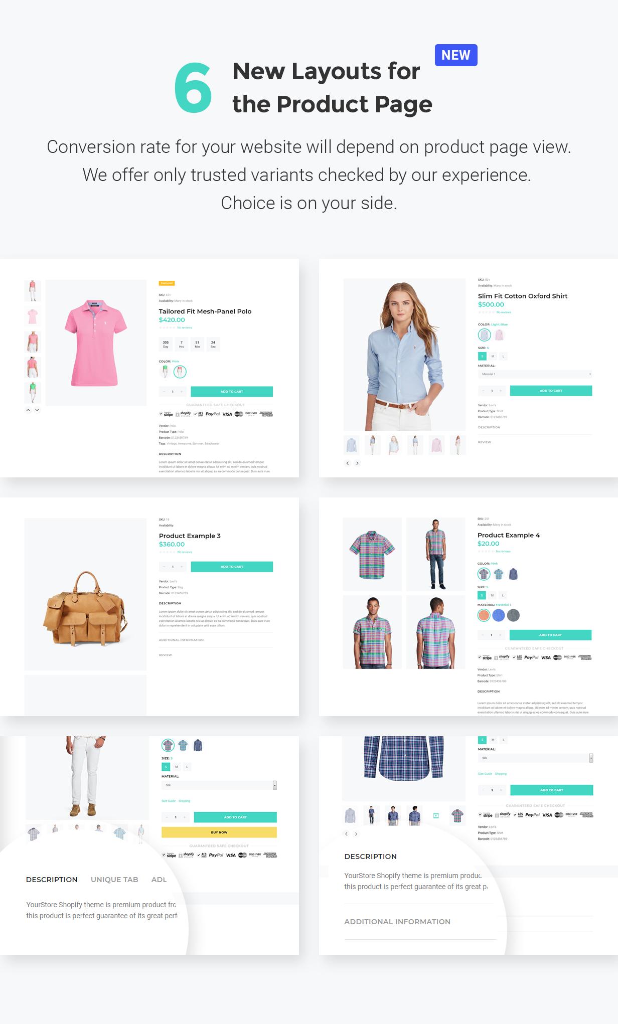 YourStore3 best fashion Shopify theme